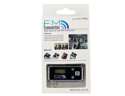 Car Wireless Fm Mp3 Radio Transmitter Hands Free For Iphone6 Ipod Samsung Htc