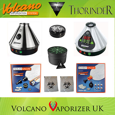 Volcano Vaporizer + Free Thorinder - Classic, Digit, Easy Valve or Solid Valve