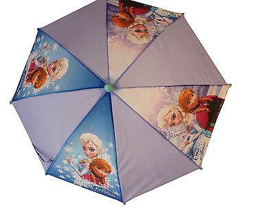 Disney Frozen Elsa & Anna Girls School Rain Umbrella Brolly Official Xmas Gift