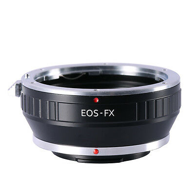 Adapter Ring for Canon EOS EF EF-S Lens to Fujifilm FX Mount Camera K&F Concept