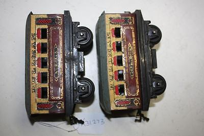 hornby o gauge  pullman coachs job lot parts missing bits poor to  fair  K31273