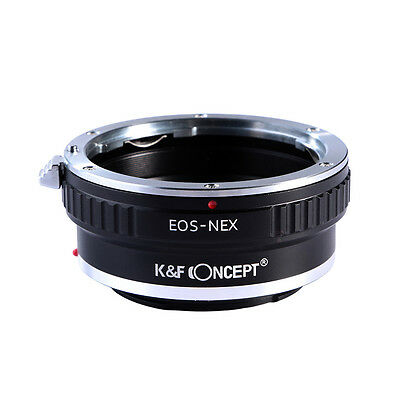 Adapter Ring for Canon EOS EF to Sony E-Mount NEX Alpha Camera K&F Concept