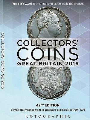 Rotographic Collectors Coins G.B. 1760 to 1970, C. Perkins 2016 Latest Edition