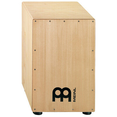 Meinl HCAJ1NT Headliner Percussion Rubber Wood Natural Cajon Drum