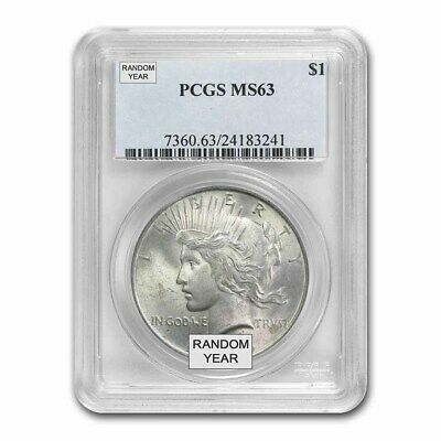 1922-1925 Peace Dollars MS-63 PCGS - SKU #7200