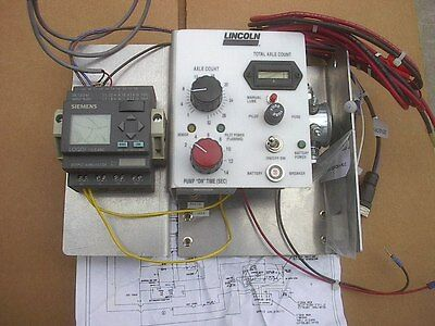 New LIncoln Industrial Wayside TOR  Grease Controller (RH) railway 276091