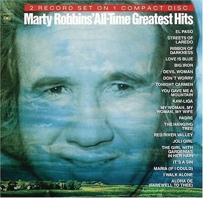 Marty Robbins - All Time Greatest [New CD]