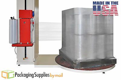 "(1) Roll Machine Pallet Stretch Film 30"" x 5000' 90 Ga Reinforced Stretch Wrap"