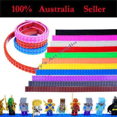 1m Rolls Flexible Lego Compatible Tape Block Tape Adhesive LEGO Building Toys