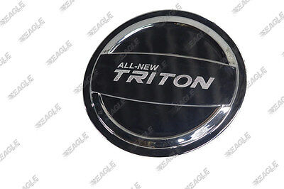 Mitsubishi L200 Chrome Fuel Filler Cap Cover - L200 Styling Accessories 2015>