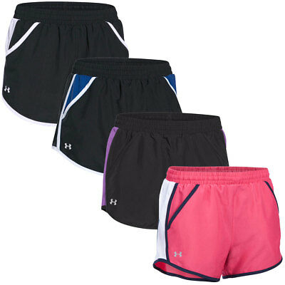 Under Armour 2016 Womens UA Fly By Run Shorts Fitness Training Gym Bottoms