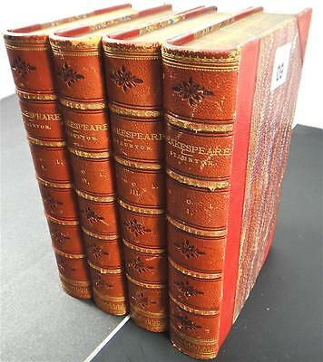 The Works of William Shakespeare( 6 Volumes) Antique 6 books Very Good Condition