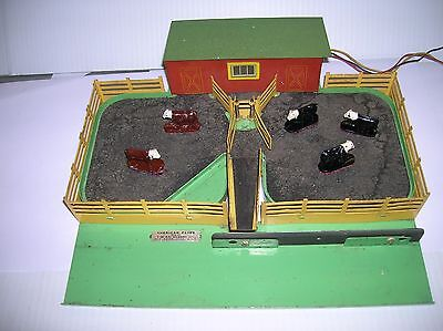 American Flyer Cattle Corral / Car set K771? used no boxes , works, lot # 6474