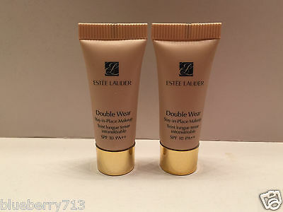 2X Estee Lauder Doble Capa Stay-In-Place Maquillaje Spf 10 / 1w2 Arena 5ml 2=