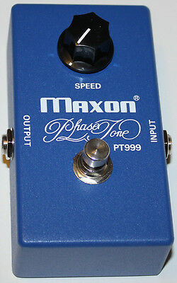 MAXON PT999 PHASE TONE Effect Pedal, New, Free Shipping, Maxon Authorized Dealer