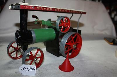 mamod steam tractor have not run, all turns freely steer rod funnel  good 31295