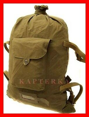 ☆ genuine soviet russian red army soldier canvas backpack rucksack veshmeshok ☆