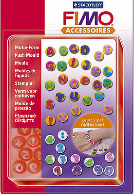 FIMO Sculpey Clay Push Moulds ABC-123 For Modelling Jewellery Craft Art Fun 07