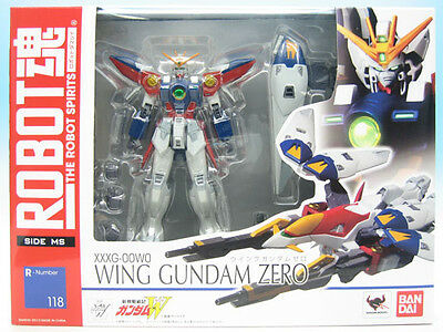 [FROM JAPAN]Robot Spirits New Mobile Suit Gundam W WING Gundam Zero Action F...