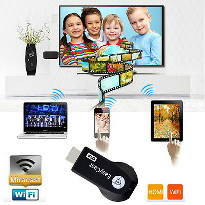 M2 EzCast Wifi Display HDMI 1080P TV Dongle Receiver Fits Smartphone Laptop TVN4