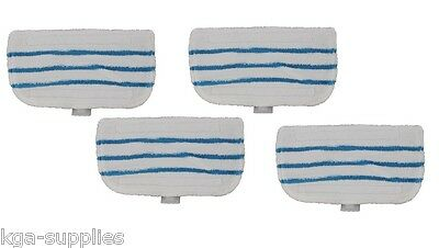 Black And Decker FSMH1621 Steam Mop Deluxe & Steambuster Mop Pads Pack of 4