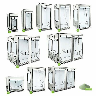 NEW 2016 Homebox AMBIENT Hydroponic White Grow Tent Room Kit Reflective Lining