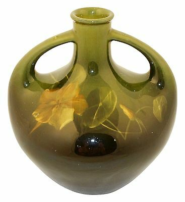 Owens Pottery Lightweight Handled Vase (Edith Bell)