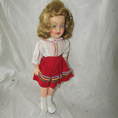 "Vintage 12"" Shirley Temple Doll 1950's Ideal St-12"