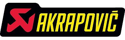 Akrapovic Exhaust Sticker P-HST6AL