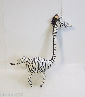 Slavic Treasures Ornament 2008 Stumpy Zebra Freeblown Glass Poland NEW IN BOX S4