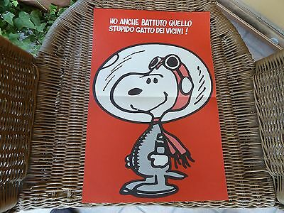 Snoopy poster Linus