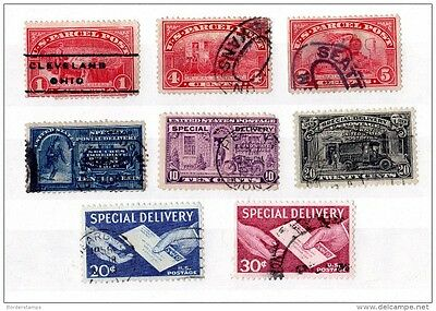 USA Parcel & Special Delivery Used Collection X773