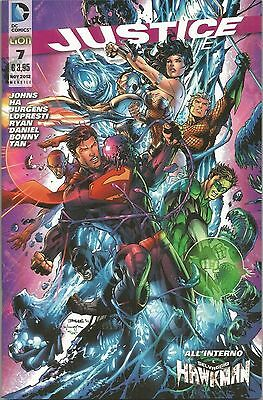 Justice League N° 7  - Dc Comics - Rw Lion - Edicola --C1