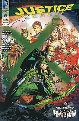 Justice League N° 8  - Dc Comics - Rw Lion - Edicola --C1