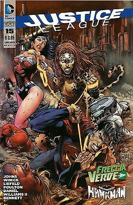 Justice League N° 15  - Dc Comics - Rw Lion - Edicola --C1