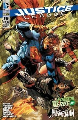 Justice League N° 16  - Dc Comics - Rw Lion - Edicola --C1