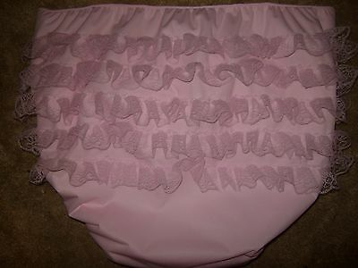 Dependeco All In One adult diaper small/medium/large/x-large (sissy ruffles)