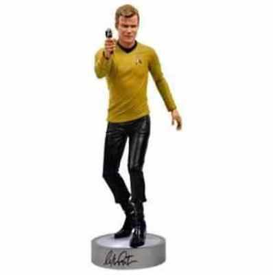 "William Shatner (Kirk)-Signed Figurine-Limited To 100-1:4 Scale/19""-New+Coa-Oop"