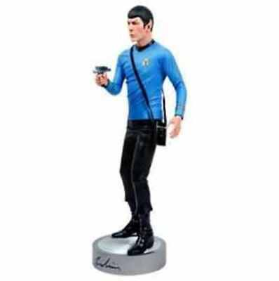 "Leonard Nimoy (Spock)-Signed Figurine-Limited To 100-1:4 Scale/19""-New+Coa-Oop"