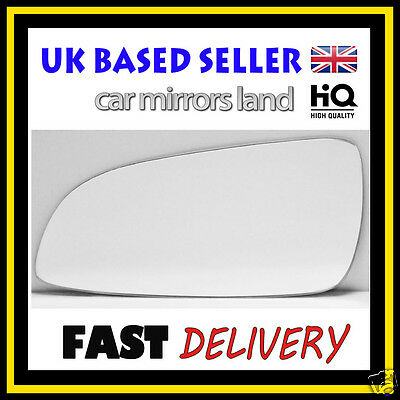 Left Passenger Wing Car Mirror Glass Replacement VAUXHALL ASTRA H Mk5 2004-2008