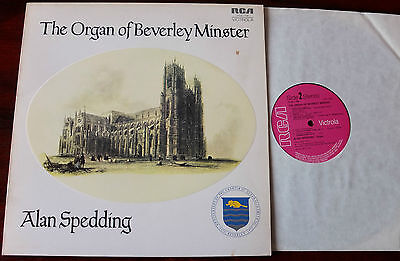 The Organ Of Beverley Minster Lp Spedding Rca Vics 1738 Ex++ (1973) England