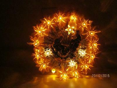 Vintage Light Up Christmas Wreath With Nativity Scene Center