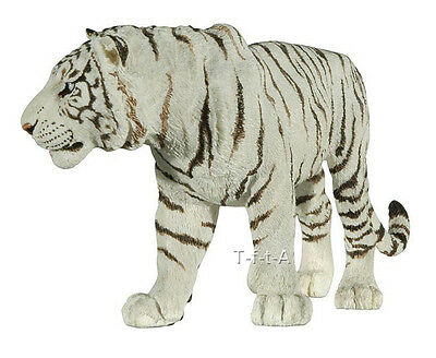 FREE SHIPPING | Papo 50045 White Tiger Model Animal Figurine - New in Package