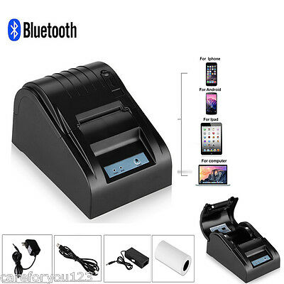 Portable Bluetooth Wireless Receipt Thermal Mobile Printer for Android IOS PC