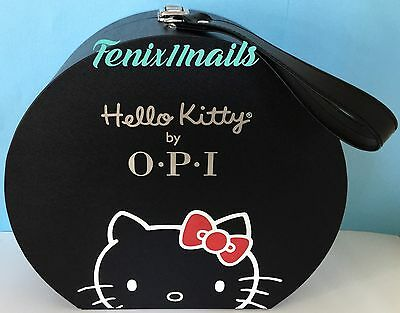 OPI Collector's HELLO KITTY HAT BOX display case for nail polish, gel color NEW