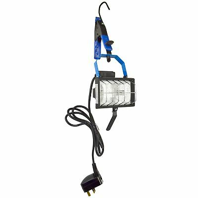 Hanging Work Light Floodlight Halogen Adjustable / Portable / Garage 150W SIL0