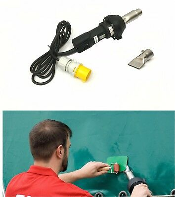 110v Forsthoff QL Hot Air Welding Tool/Gun PVC Tarpaulin Side Curtain Repair HGV