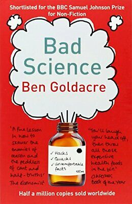 Bad Science, Goldacre, Ben Paperback Book The Cheap Fast Free Post