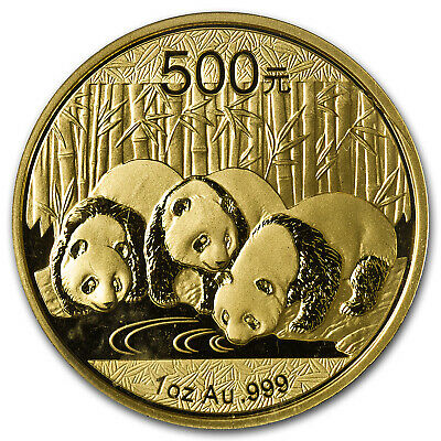 2013 China 1 oz Gold Panda BU (Sealed) - SKU #71284