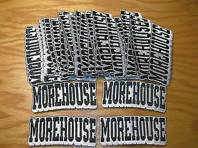 "Lot 50 ""morehouse"" Embroidered Iron On Patch - Ncaa"